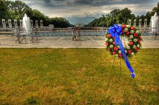 People to People at World War II Memorial