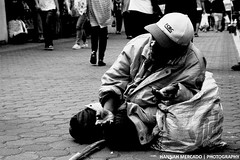 ANG BOSES NA HINDI MARINING (MERRRX) Tags: poverty street old city man photography sadness alone philippines poor photojournalism beggar help cry boses baguiocity plead merx kahirapan blacklightadvertising