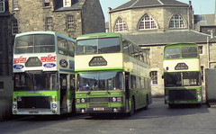122  1990-04-08   HSF78X ULS110X and BGG252S at St. Andrew Square Bus Station (VV773) Tags: bus sol station st square volvo edinburgh scottish andrew ailsa alexander eastern smt leyland olympian ecw uls110x hsf78x bgg252s