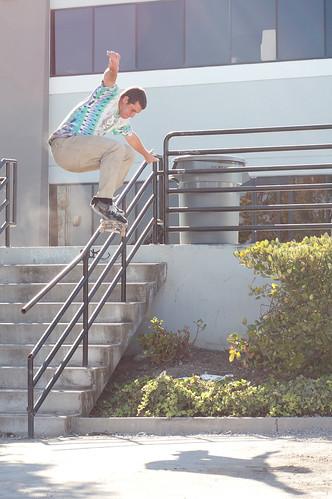 Ollie Over 9 Stair Rail