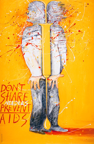 USA_Dont Share Needles_Lanny Sommese.1989