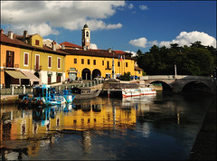 (Gottry) Tags: bridge italy panorama landscape nikon italia ponte tokina polarizer lombardia naviglio d90 1116 polarizzatore boffaloraticino