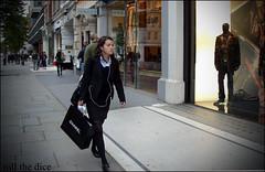 `357 (roll the dice) Tags: life street uk girls people urban colour sexy london art classic girl smart fashion female speed shopping photography pretty natural sale candid streetphotography stranger knightsbridge rush gb unknown graff wisdom hogan chanel unaware brompton sw1 londonist sw7 sloanestreet
