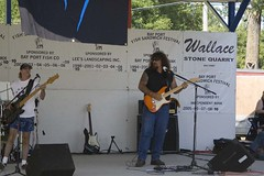 CoverBand (travisjohnbye) Tags: festival weird candy bayport gross disgusting pettingzoo notfood coverband fishsandwich natesplate bayportfishsandwichfestival