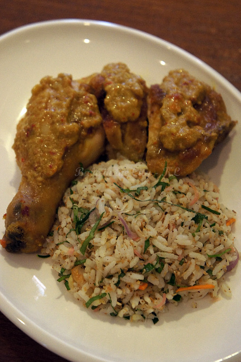Ayam Percik & Nasi Kerabu