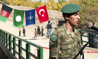 Turkish Army, part of NATO, friend of ISIS