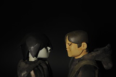 ashley wood tommy mission and little shadow (.BOZ.) Tags: uk shadow macro closeup toys photography nikon close bokeh ashley 3a wwr ashleywood littleshadow d700 lilshadow threea 3atoys adventurekartel tommymission