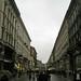 rainy milan street