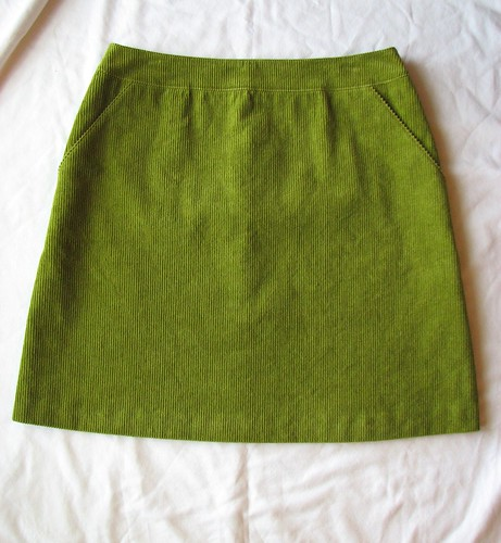 Corduroy Burda Skirt