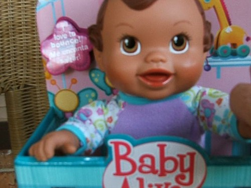 Cute Video of Bouncin' Babbles Baby Alive Doll
