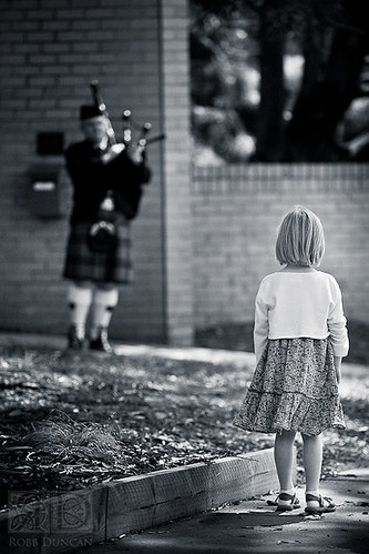 Girl and Piper