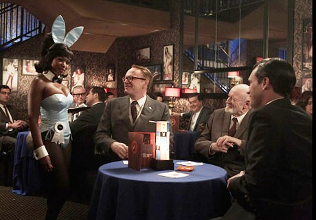 Mad Men Chocolate Bunny