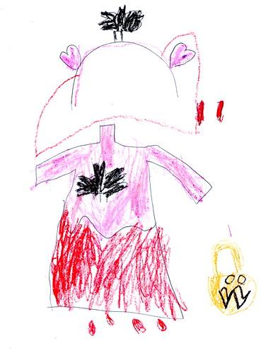 Designing Her Halloween Costume