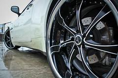 2010 Maserati Gran Turismo S with Savini SV31s (Autoglitz) Tags: s gran turismo maserati 2010 savini sv31s autoglitz