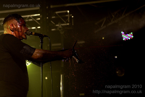 Agonoize performing at Infest 2010