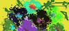 FLOWERS by EVELYN   en   9-1-2010   mouse   1020 x 465 (drips / action painting) Tags: flowers en art fun mouse evelyn free 37 912010 e7e237 1020x465