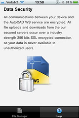 AutoCAD WS Security Notice