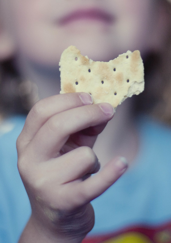 heart shaped cracker