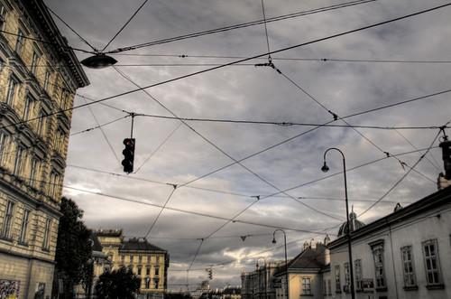 Trapped sky. Viena, Austria. Cielo atrapado