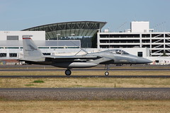 (Eagle Driver Wanted) Tags: eagle jet portlandairport pilot aero aerospace f15 fighterpilot f15eagle fighterjet airguard redhawks f15c kpdx eagledriver oregonairnationalguard 84005 142ndfw oregonairguard 142ndfighterwing 123fightersq fightingredhawks af84005