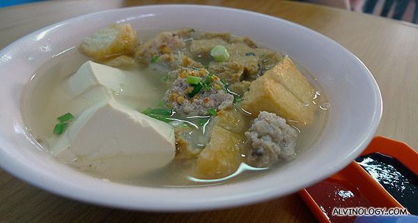 Yong Dou Foo soup to share