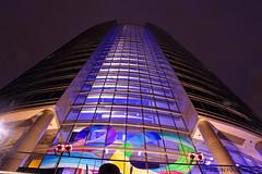 JW Marriot - Grand Rapids MI (Kevin Povenz) Tags: blue sky usa black color rain night fun photography lights kevin outdoor michigan grandrapids nightsky westmichigan canont1i mygearandmepremium mygearandmebronze povenz tpscityscape