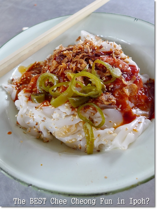 Best Chee Cheong Fun in Ipoh