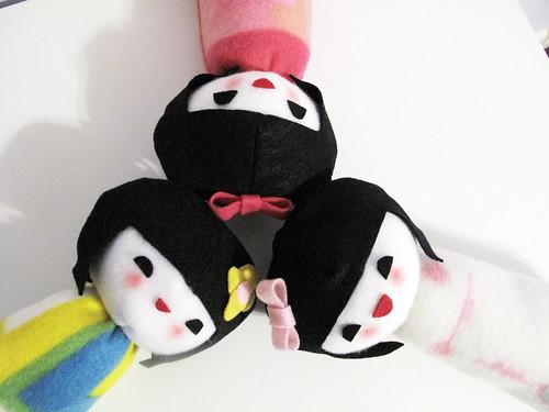 Kokeshi dolls!