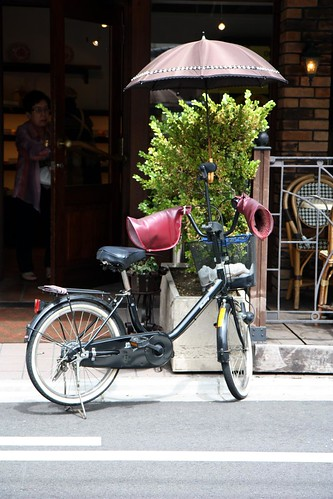 fully-equipped bike