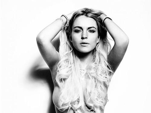 Lindsay Lohan & Ali Photoshoot
