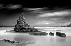Pinnacle (petefoto) Tags: longexposure sea blackandwhite seascape beach portugal nature water clouds reflections landscape sand nikon rocks wave atlantic coastal filters foreshore polariser nd110 praiadocastelejo platinumheartaward pagb castelejobeach artofimages bestcapturesaoi elitegalleryaoi mygearandmepremium mygearandmebronze mygearandmesilver mygearandmegold mygearandmeplatinum mygearandmediamond wcpf leefilters09sgrad