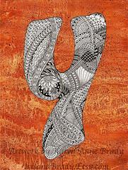 The Letter Y WM (Ireland.Brady) Tags: orange doodle alphabet initial zentangle karenbrady zendoodle irelandbrady karenjasperson karenannebrady