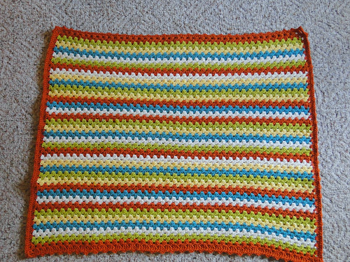 granny stripe finished