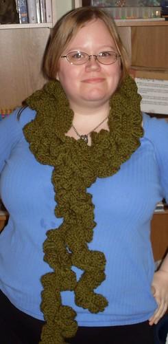 ruffle scarf 11