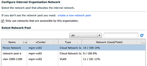 vmware vCD cloud director networking screenshot