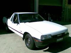 1990 Nissan XFN Ute (sv1ambo) Tags: ford nissan australia utility pickup ute falcon 1990 xfn xf badgeengineering