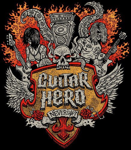 Guitar Hero Neversoft T-Shirt
