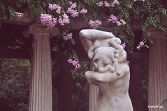 El espíritu del otoño (nemenfoto) Tags: parque valencia tristeza escultura otoño pena parc tardor viveros columnas paisvalencia