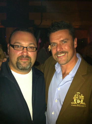 It's @adamgarone of @Movember and I