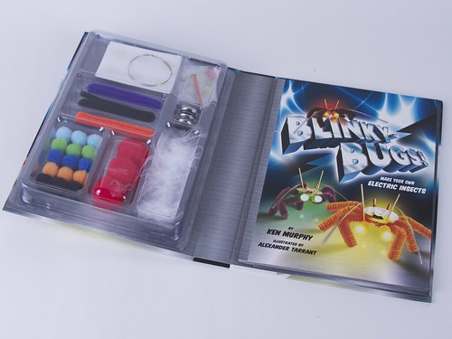 Blinky Bugs Book & Kit