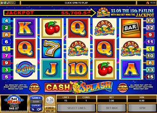 Cash Splash 5-Reels slot game online review