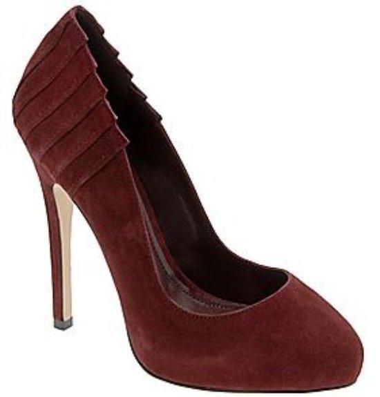 burgundy heel - botkin