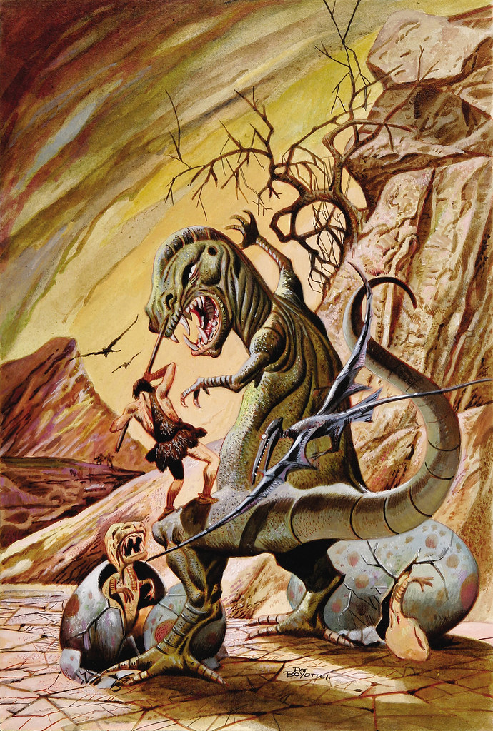 Pat Boyette - Korg: 70,000 B.C. #5