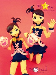 Hotchi and Haru (Sock Hop Adoption Shop) Tags: girl cat asian toy actionfigure japanese cosplay manga kitty kawaii japanesetoy posable revoltech