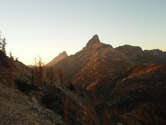 Tower Mtn and Golden Horn near sunset