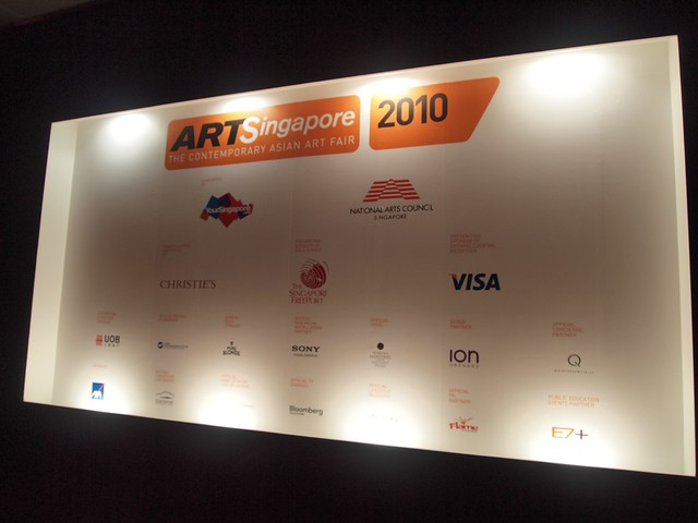 ArtSingapore Fair 2010 (8 -11 Oct 2010)