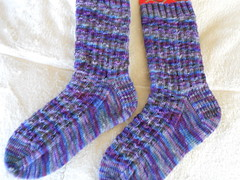 Gitte's Socks finished