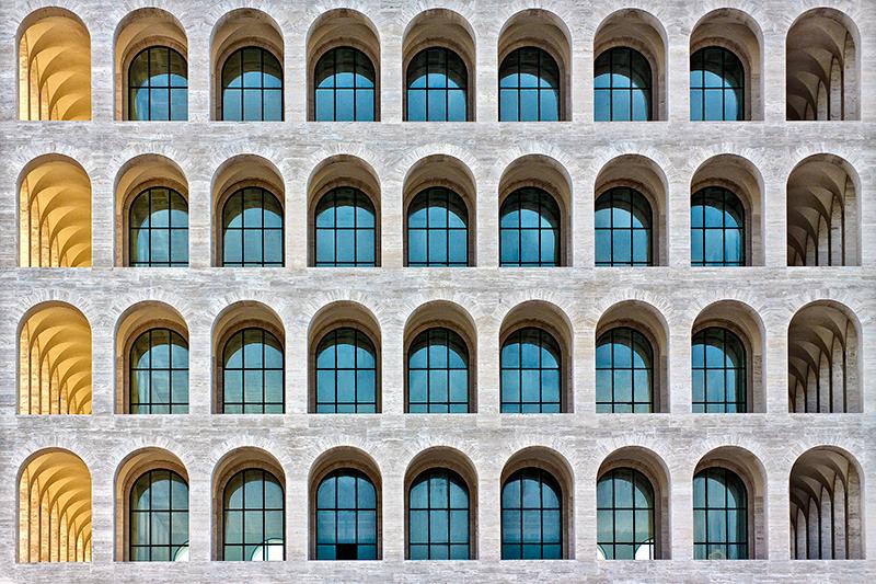 Roma - Palazzo della Civiltà del Lavoro