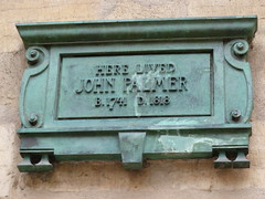 Photo of John Palmer bronze plaque