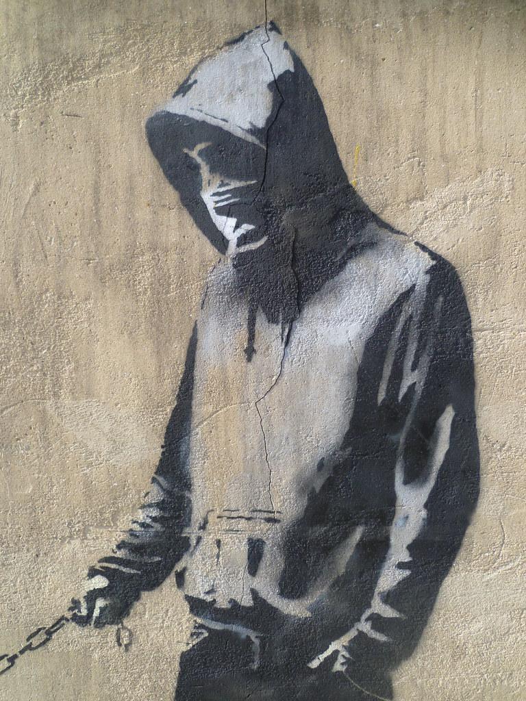 Banksy - Haring Dog